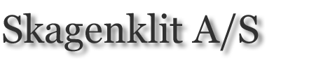 Skagenklit A/S logo